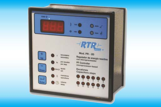 Automatic reactive power controller PR-2D Series
