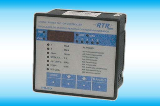 Automatic reactive power controller PR-5D Series