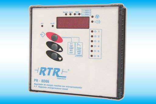 Automatic reactive power controller PR-8D Series