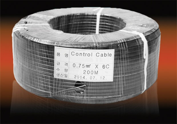 Control Cable 0.75mm2x6c