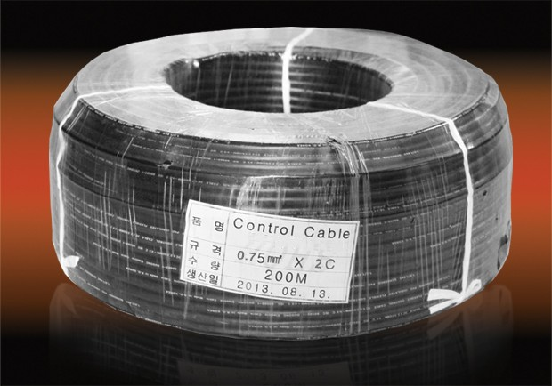 Control cable 0.75mm2x2c