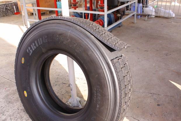 Công nghệ mới giúp tái sử dụng lốp xe cũ