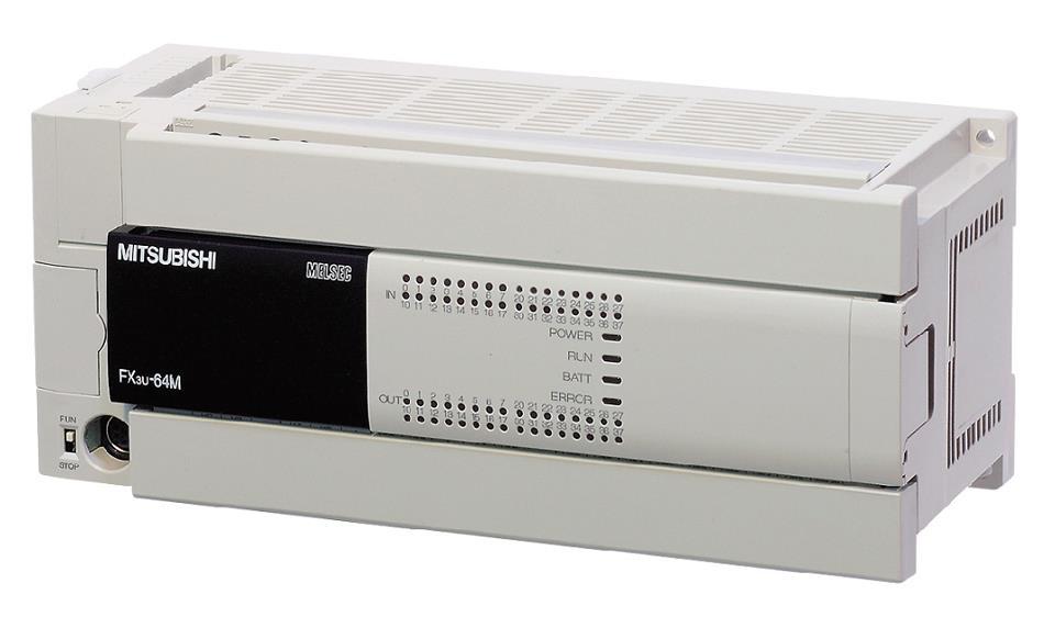 PLC Mitsu FX3U-64MR ES/A